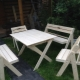 Сгъваема дървена маса за даване и у дома: функционалност и комфорт