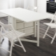 Ikea folding tables: a combination of style and comfort