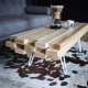 Create a wood table with your own hands