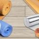 Metoder för att lägga underlaget under laminatet