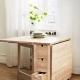 Tables-livres d'Ikea: des modèles élégants dans un intérieur moderne