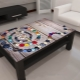 Tables avec impression photo - meubles de cuisine modernes