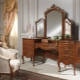 Dressing tables in the interior