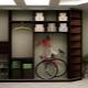 Mobília estreita no hall - uma solução para pequenos apartamentos