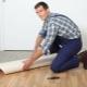Välja ett substrat för linoleum
