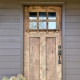 Choosing doors for a country house