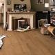Valet och läggandet av ett värmeisolerat golv under ett laminat