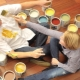 Akrylfärger för trä: Egenskaper av val