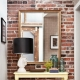 Decorative brick in the interior of the apartment: beautiful design options