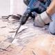 Dismantling tiles: process features