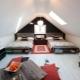 Attic design in a private house: interior design ideas