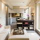 Utformning av en 1-rumslägenhet på 40 kvadratmeter: exempel på inredning