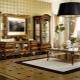 Meubles italiens pour le salon: élégance dans différents styles