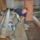 Hur isoleras golvet med expanderad lera?
