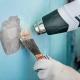 Comment enlever la vieille peinture des murs?