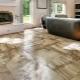 Porslinsplattor för ett golv: Subtiliteter av val och läggning