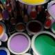 Peintures à base d'eau: types et compositions