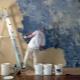 Applying textured paint: do it yourself original ways