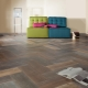 Floor tiles under the laminate: fashion ideas for the interior