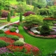 Directions of landscape design: features and characteristics