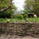The original wicker fence in the country: manufacturing technology