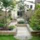 Features of landscape design narrow area