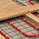Funktionerna för installationen av ett uppvärmt golv gör det själv