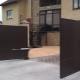 Funktioner av elektriska sväng grindar