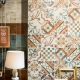 Patchwork tiles: beautiful ideas for your home