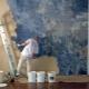 Målning dekorativa gips: ansökan metoder