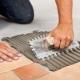 Limförbrukning för plattor per 1 m2: beräkningsdetaljer