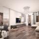 Idées de design d'intérieur loft de style salon