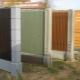 Poteaux de clôture: variétés et travaux d'installation