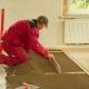 Torr golvplåt: fördelarna och nackdelarna