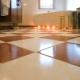 Varm golvplattor: urvalskriterier