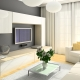 Subtlety design living room area of ​​16 square. m: proper space delimitation