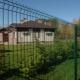 Installation av ett staket från en universal grid giter