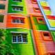 Typer och subtiliteter av valet av fasadfärg