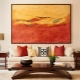 Choosing beautiful and stylish paintings for the living room