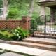 Clôture: belle clôture universelle pour maisons privées et villas