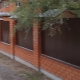 Fence with brick pillars: beautiful decor options