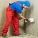 Cementplaster: Urval och applikation