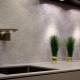 Dekorativt gips i köket: inredningsdetaljer
