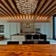Plafond en bois dans l'appartement: de belles idées à l'intérieur