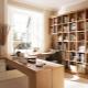 कैबिनेट डिजाइन: घर पर काम करने की जगह के आयोजन के लिए विचार
