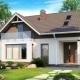 Hus med en vind på 6x8: vackra idéer av projekt