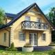 Двуетажна къща с таван: избор на материали и примери за проекти