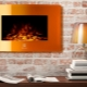 Electric flame effect 3D fireplace: variations and installation