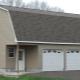 Garage med vindsvåning: alternativ för planering