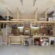 गेराज के लिए विचार: घर के मालिक के लिए घर का बना सामान